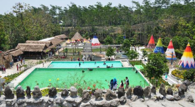 wisata kampung Korea Kediri
